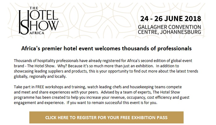 See who's coming to The Hotel Show Africa this year - RASA